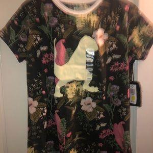 Brooklyn standard woman's dinosaur T-shirt